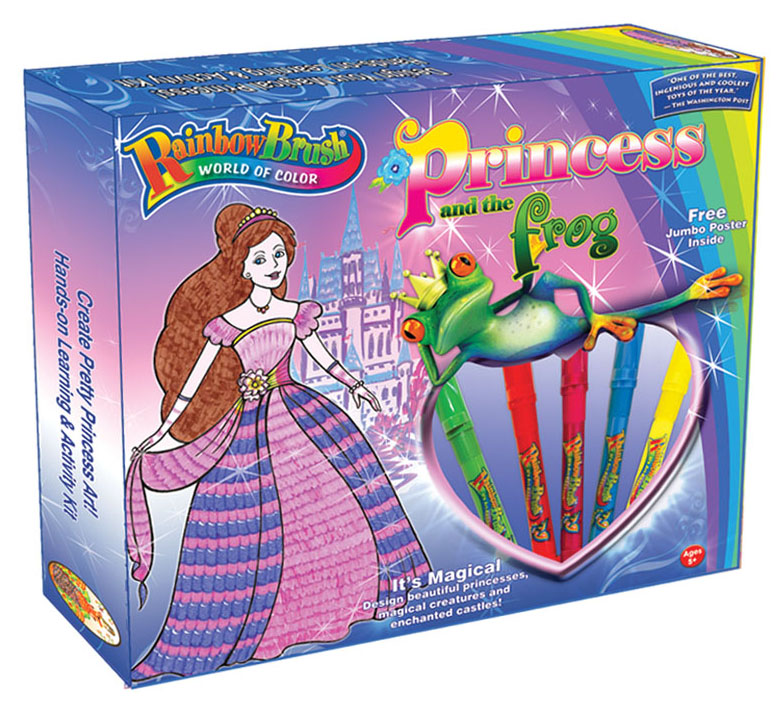 Princess and the Frog RainbowBrush Activity kit # 1480